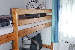 Fewo Romantika - Kinderzimmer mit Stockbett